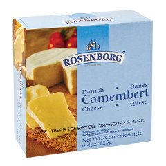 ROSENBORG DANISH CAMEMBERT 4.4 OZ TIN