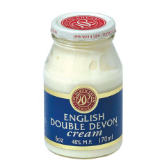 ENGLISH DOUBLE DEVON CREAM 6 OZ JAR