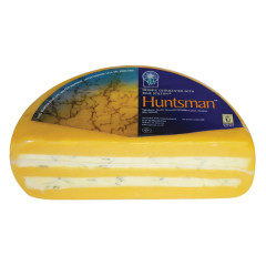 HUNTSMAN DOUBLE GLOUSCESTER WITH BLUE STILTON CHEESE 5 LBS