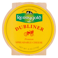 KERRYGOLD DUBLINER SPREADABLE CHEESE 6 OZ