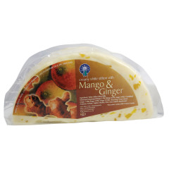STILTON WHITE MANGO AND GINGER LONG CLAWSON CHEESE