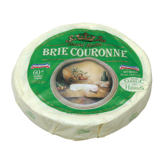 HENRI HUTIN BRIE COURONNE WITH HERBS 2.5 LBS