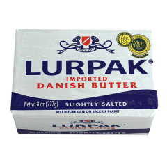 LURPAK SALTED DANISH BUTTER 8 OZ