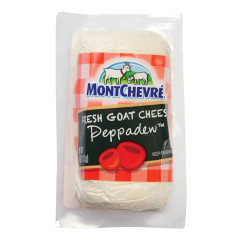 MONTCHEVRE PEPPADEW GOAT CHEESE 4OZ LOG