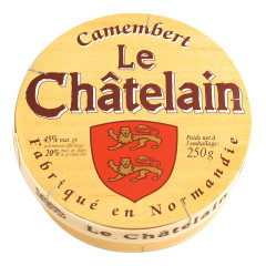 CAMEMBERT LE CHATELAIN WOOD 8 OZ BOX