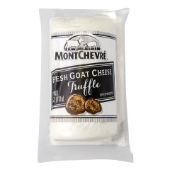 MONTCHEVRE TRUFFLE GOAT CHEESE 4 OZ LOG