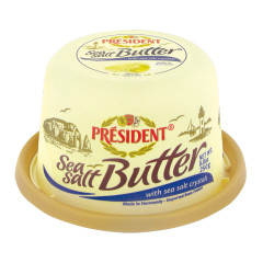 PRESIDENT SEA SALT BUTTER 8.8 OZ TUB