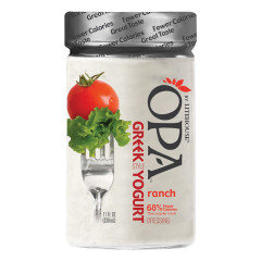 OPA RANCH GREEK YOGURT DRESSING 11 OZ BOTTLE