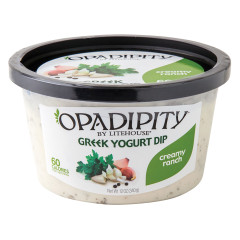OPADIPITY RANCH GREEK YOGURT DIP 12 OZ TUB