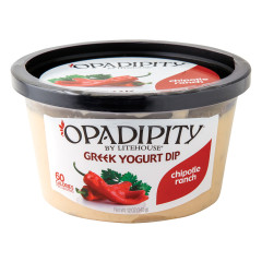 OPADIPITY CHIPOTLE RANCH GREEK YOGURT DIP 12 OZ TUB