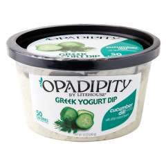 OPADIPITY CUCUMBER DILL GREEK YOGURT DIP 12 OZ TUB