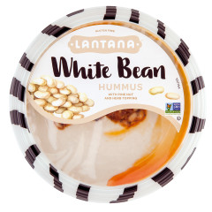 LANTANA WHITE BEAN AND PINE NUT HUMMUS 10 OZ TUB