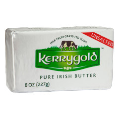 KERRYGOLD UNSALTED BUTTER 8 OZ BAR
