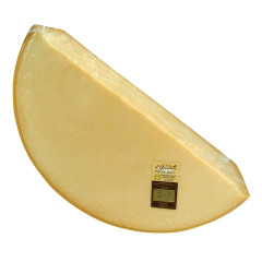 PARMIGIANO REGGIANO CHEESE 18 MONTH QUARTER WHEEL