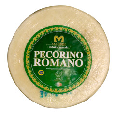 PECORINO ROMANO CHEESE WHOLE WHEEL