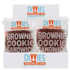 DIVVIES - BROWNIE SANDWICH - 2.5 OZ