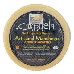 CARPUELA AGED NINE MONTHS RAW MILK MANCHEGO CHEESE