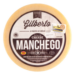 GILBERTO NINE MONTH RAW MANCHEGO CHEESE