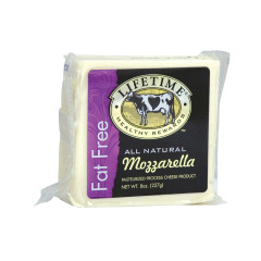 LIFETIME FAT FREE MOZZARELLA CHEESE 8 OZ