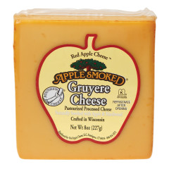 APPLE SMOKED GRUYERE CHEESE 8 OZ