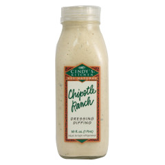 CINDY'S CHIPOTLE RANCH DRESSING 16 OZ BOTTLE