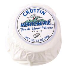 MONTCHEVRE CROTTIN GOAT CHEESE 3.5 OZ