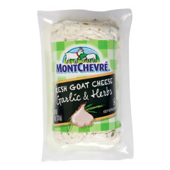 MONTCHEVRE GARLIC AND HERB GOAT CHEESE 4 OZ LOG