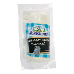 MONTCHEVRE NATURAL GOAT CHEESE 4 OZ LOG