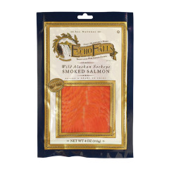 ECHO FALLS COLD SMOKED SOCKEYE SMOKED SALMON 4 OZ
