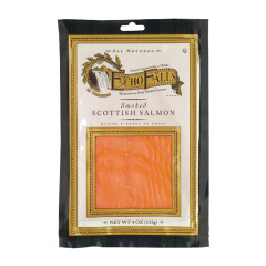 ECHO FALLS COLD SMOKED SCOTTISH SMOKED SALMON 4 OZ