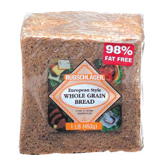 RUBSCHLAGER EUROPEAN WHOLE GRAIN BREAD 16 OZ