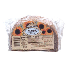 RUBSCHLAGER RYE-OLA SUNFLOWER BREAD 16 OZ