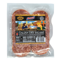 BUSSETO CALABRESE SLICED ITALIAN DRY SALAMI 8 OZ