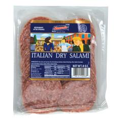BUSSETO SLICED ITALIAN DRY SALAMI 8 OZ
