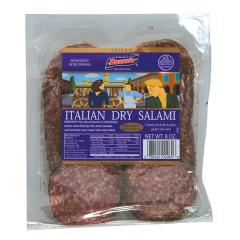 BUSSETO SLICED HERB ITALIAN DRY SALAMI 8 OZ
