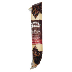BELLENTANI HOT PEPPER COATED SALAMI 7 OZ