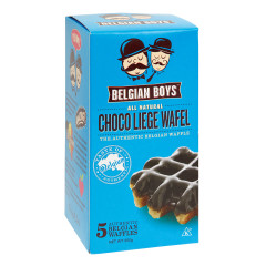 BELGIAN BOYS CHOCO LIEGE WAFEL 5 CT BOX 10.58 OZ