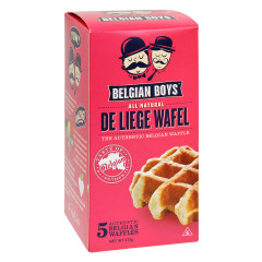 BELGIAN BOYS DE LIEGE WAFEL 5 CT BOX 9.7 OZ