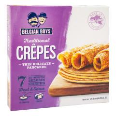 BELGIAN BOYS ALL NATURAL CREPES 18.5 OZ