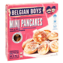 BELGIAN BOYS ALL NATURAL MINI PANCAKES 10.6 OZ