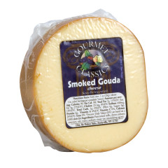 SMOKED GOUDA PRECUT CHEESE