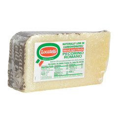 PECORINO ROMANO LOCATELLI PRECUT CHEESE