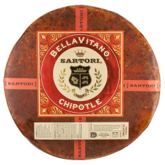 SARTORI BELLAVITANO CHIPOTLE CHEESE WHEEL
