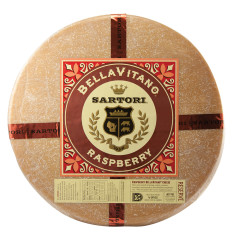 SARTORI RASPBERRY BELLAVITANO CHEESE WHEEL