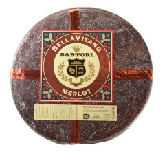 SARTORI MERLOT BELLAVITANO CHEESE WHEEL