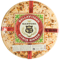 SARTORI CITRUS GINGER BELLAVITANO CHEESE WHEEL