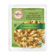 NUOVO ORGANIC SPINACH AND CHEESE TORTELLINI PASTA 9 OZ