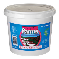 DOMESTIC FETA CHEESE 8 LB TUB