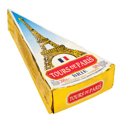 TOURS DE PARIS BRIE CHEESE WEDGE 7 OZ