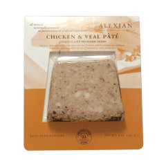 ALEXIAN CHICKEN AND VEAL PATE 5 OZ